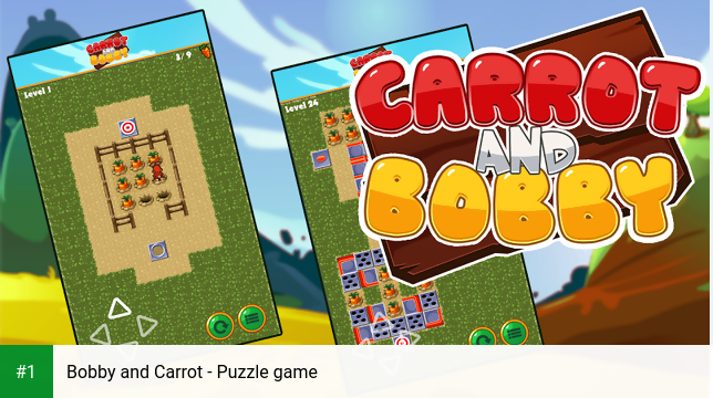 Bobby and Carrot - Puzzle game app screenshot 1