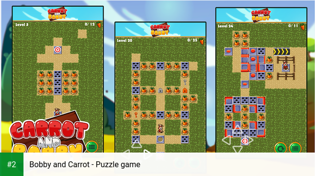 Bobby and Carrot - Puzzle game apk screenshot 2