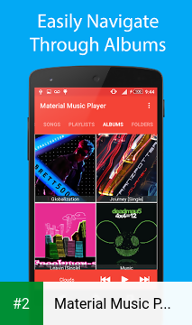 Material Music Player apk screenshot 2