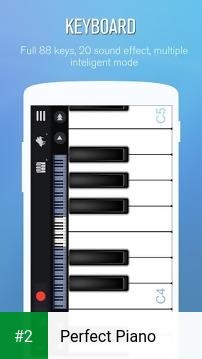 Perfect Piano apk screenshot 2