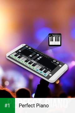 Perfect Piano app screenshot 1