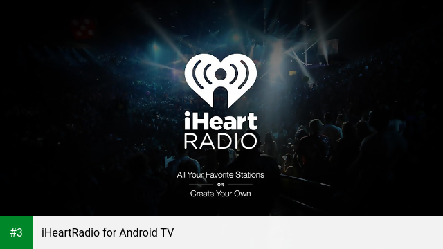 iHeartRadio for Android TV app screenshot 3