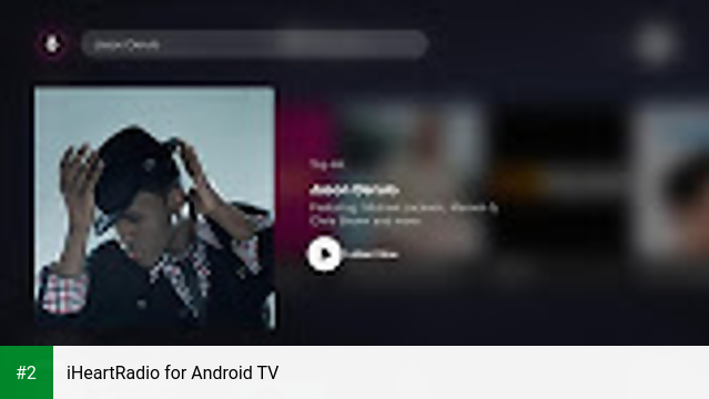 iHeartRadio for Android TV apk screenshot 2