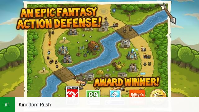 Kingdom Rush app screenshot 1