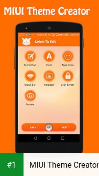 MIUI Theme Creator app screenshot 1