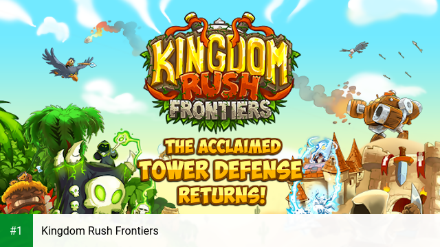 Kingdom Rush Frontiers app screenshot 1