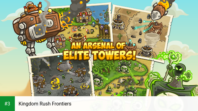 Kingdom Rush Frontiers app screenshot 3