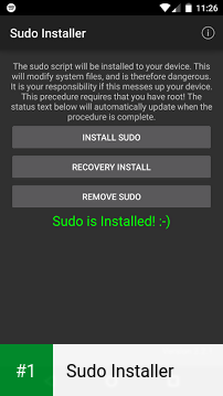 Sudo Installer app screenshot 1