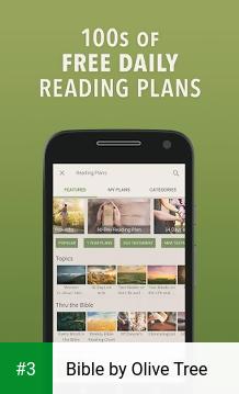 Bible by Olive Tree app screenshot 3