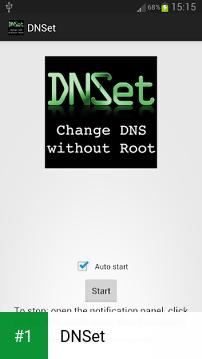 DNSet app screenshot 1