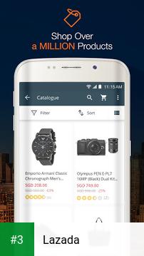 Lazada app screenshot 3