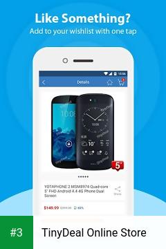 TinyDeal Online Store app screenshot 3
