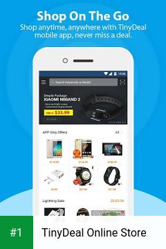 TinyDeal Online Store app screenshot 1