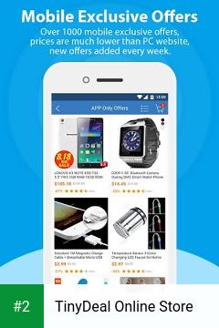 TinyDeal Online Store apk screenshot 2