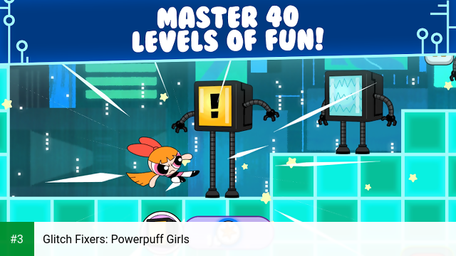 Glitch Fixers: Powerpuff Girls app screenshot 3