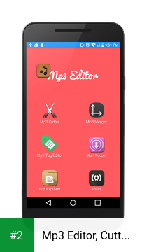 Mp3 Editor, Cutter & Merger apk screenshot 2