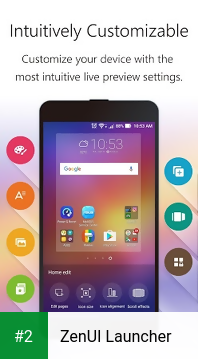 ZenUI Launcher apk screenshot 2