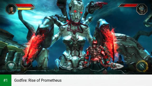 Godfire: Rise of Prometheus app screenshot 1