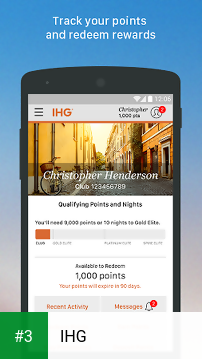 IHG app screenshot 3