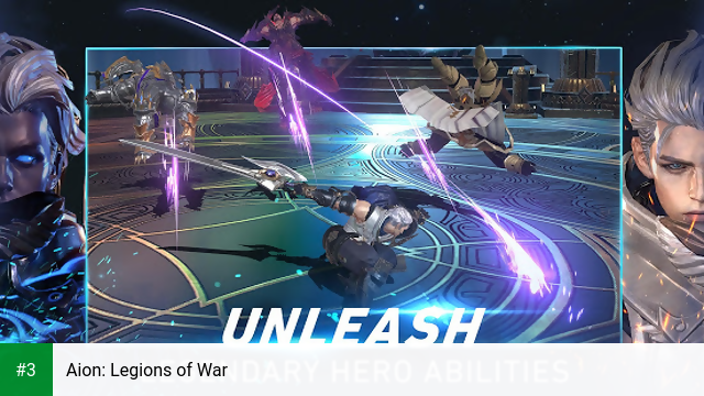Aion: Legions of War app screenshot 3