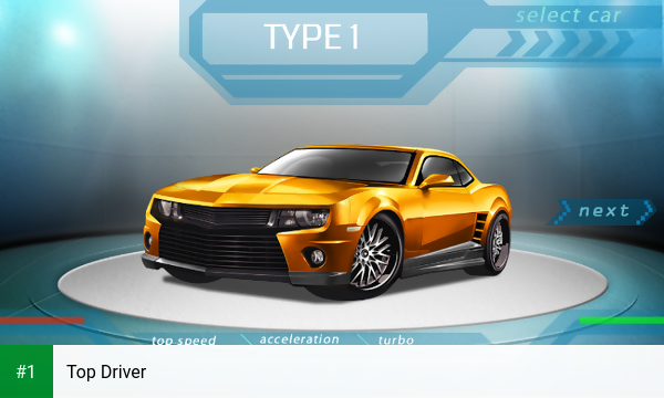 Top Driver app screenshot 1
