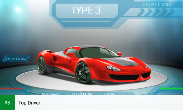 Top Driver app screenshot 3