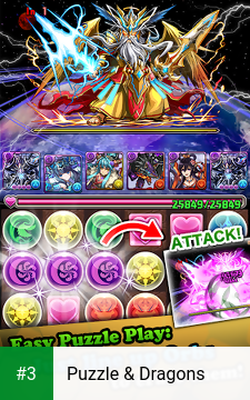 Puzzle & Dragons app screenshot 3