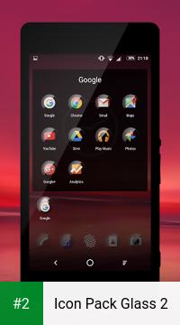 Icon Pack Glass 2 apk screenshot 2