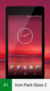 Icon Pack Glass 2 app screenshot 1