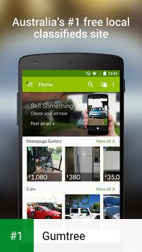 Gumtree app screenshot 1