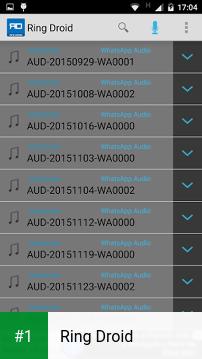 Ring Droid app screenshot 1