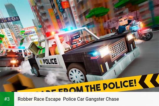 Robber Race Escape  Police Car Gangster Chase app screenshot 3