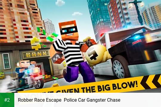 Robber Race Escape  Police Car Gangster Chase apk screenshot 2