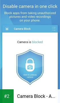 Camera Block - Anti spy-malware apk screenshot 2