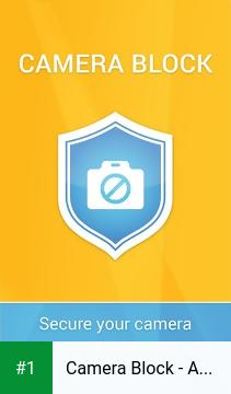Camera Block - Anti spy-malware app screenshot 1