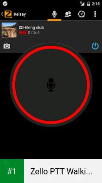 Zello PTT Walkie Talkie app screenshot 1