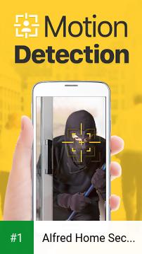 Alfred Home Security Camera app screenshot 1
