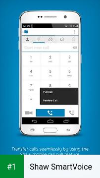 Shaw SmartVoice app screenshot 1