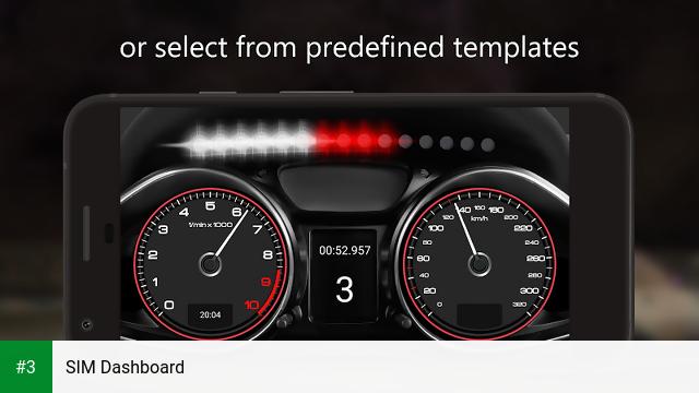 SIM Dashboard app screenshot 3