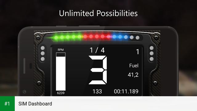 SIM Dashboard app screenshot 1