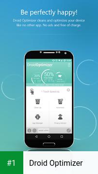 Droid Optimizer app screenshot 1