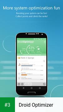 Droid Optimizer app screenshot 3