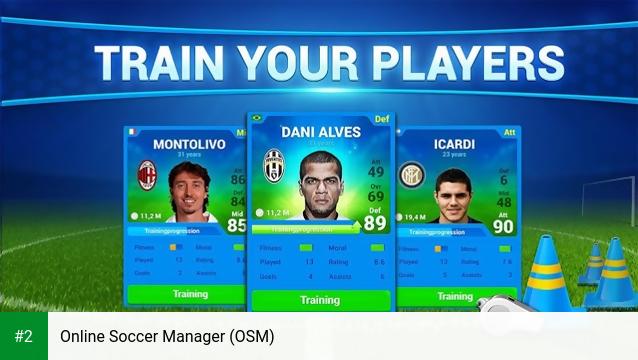 Online Soccer Manager (OSM) apk screenshot 2