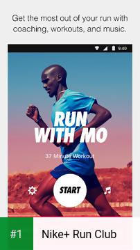 Nike+ Run Club app screenshot 1