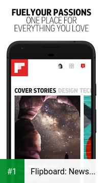 Flipboard: News For You app screenshot 1