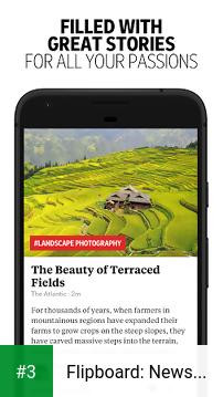 Flipboard: News For You app screenshot 3