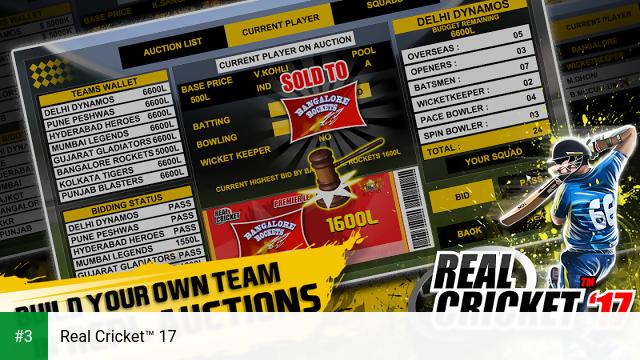 Real Cricket™ 17 app screenshot 3