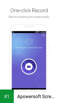 Apowersoft Screen Recorder app screenshot 1
