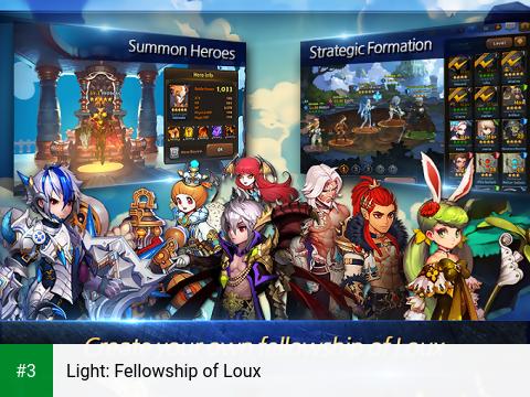 Light: Fellowship of Loux app screenshot 3