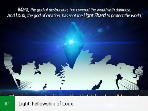 Light: Fellowship of Loux app screenshot 1